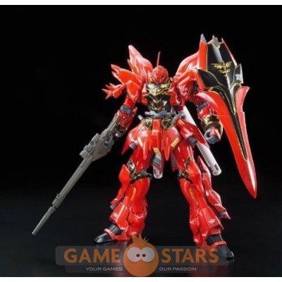 Gundam: Real Grade UC - MSN-06S Sinanju 1:144 Scale Model Kit