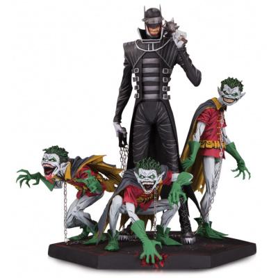 DC Comics: Dark Nights Metal Batman Who Laughs and Robin Statue