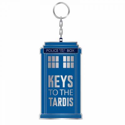 Doctor Who - Metal Keyring - Keys to the Tardis