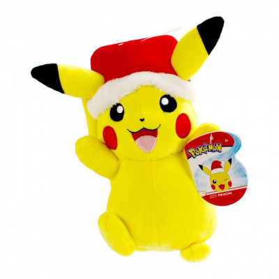 Pokémon présentoir peluches 20 cm Christmas Edition