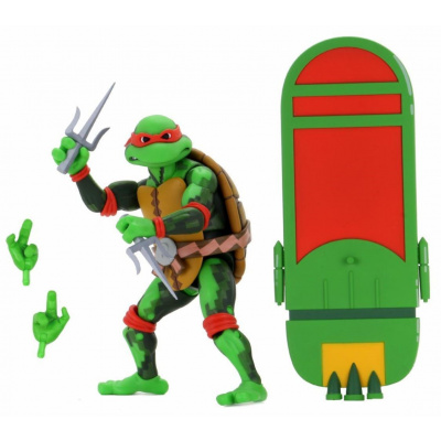 TMNT: Turtles in Time Series 2 RAPHAEL - 7 inch Action Figure