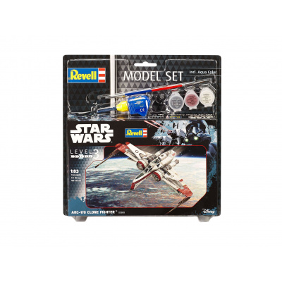Star Wars: Model Set ARC-170 Fighter 1:83 Scale Model Kit