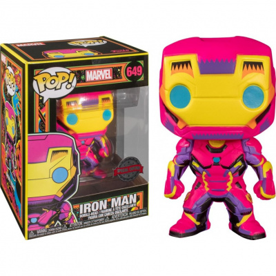 Marvel POP! Marvel Black Light Vinyl figurine Iron Man 9 cm
