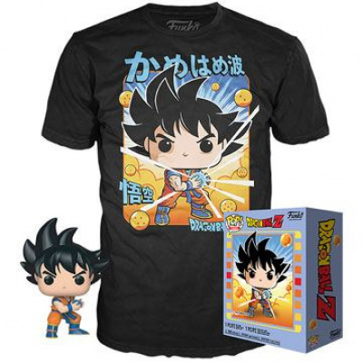 Funko Dragon Ball Z POP! & Tee Goku size L