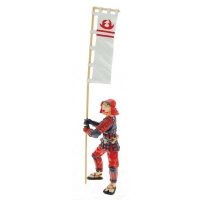 Standard-Bearer Samurai Figure