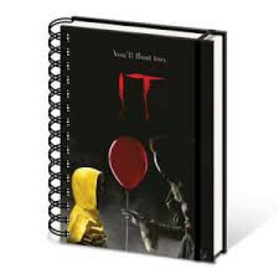 IT (Pennywise & Georgie) A5 Wiro Notebook