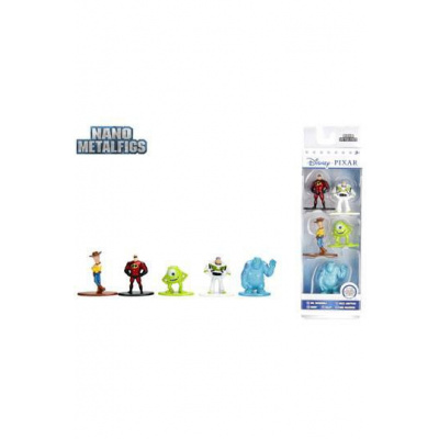 Disney Nano Metalfigs Diecast Mini Figures 5-Pack Disney Pixar 4 cm