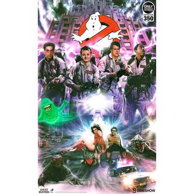 Ghostbusters: Unframed Art Print
