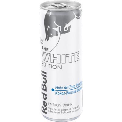 Redbull - White edition - kokos en blauwe bes