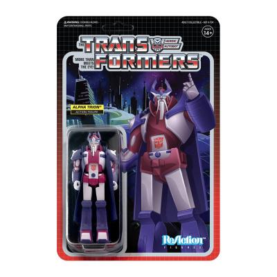 Transformers: Alpha Trion - 3.75 inch ReAction Figure