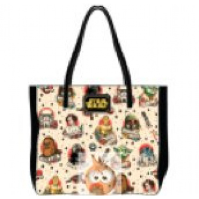 Loungefly Tattoo Characters AOP Tote Bag (Star Wars)