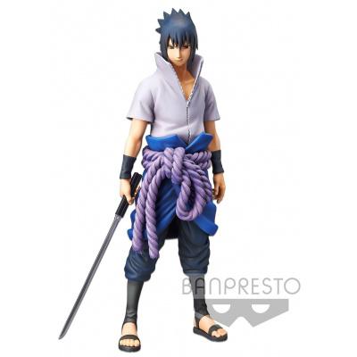 Naruto Shippuden: Grandista Nero Uchiha Sasuke Figure