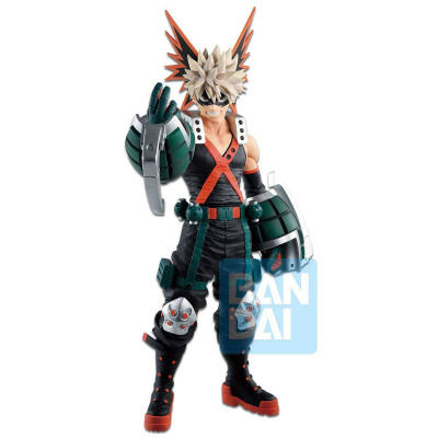 My Hero Academia: Katsuki Bakugo - Fighting Heroes Ichibansho Figure