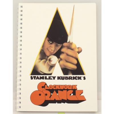 A Clockwork Orange: Movie Poster Spiral Notebook