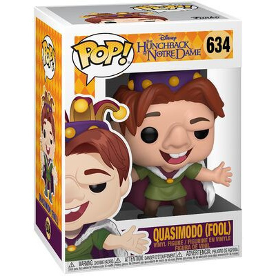 DISNEY - Hunchback - Bobble Head POP N° 634 - Quasimodo - Fool - 9cm