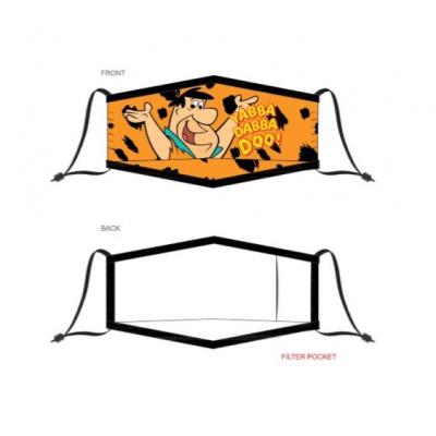 The Flintstones: Adjustable Face Mask