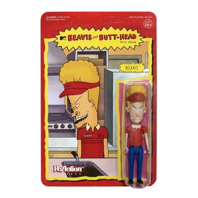 Beavis and Butt-Head: Burger World Beavis 3.75 inch ReAction Figure