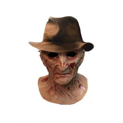 A Nightmare on Elm Street 4: Deluxe Freddy Krueger Mask with Hat