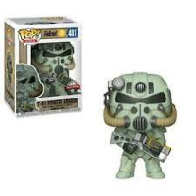 Fallout 76 Funko POP! Games T-51 Power Armor Exclusive