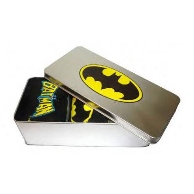Batman Socks 3-Pack in a Tin