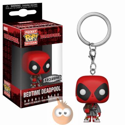 POP Keychain: Deadpool Playtime - Deadpool Bath Robe