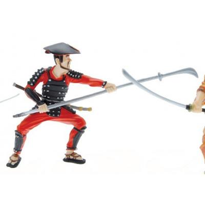 Samurai with Spear Figure
