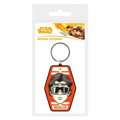 Star Wars Solo Rubber Keychain Solo Badge