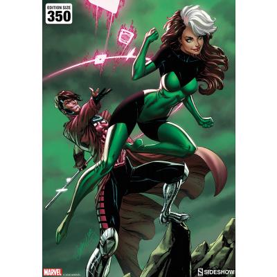 Marvel: Uncanny X-Men - Rogue and Gambit Unframed Art Print