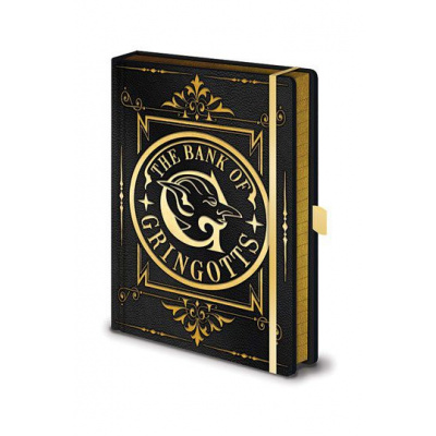 Harry Potter Premium Notebook de Bank van gringotts hardcover