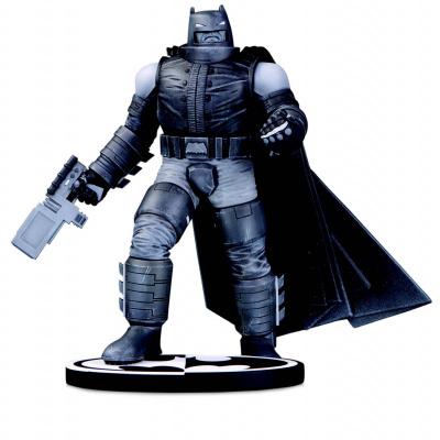 DC Comics: Batman Black and White Armored Batman Statue by F. Miller