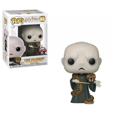 Funko Pop! Harry Potter: Lord Voldemort (with Nagini) - US Exclusive