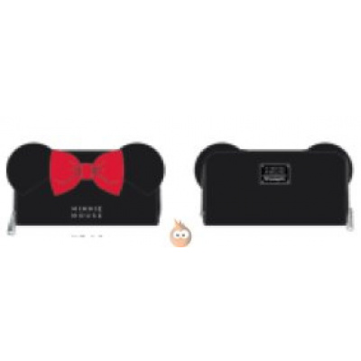 Loungefly Minnie with Ears and Bow Wallet