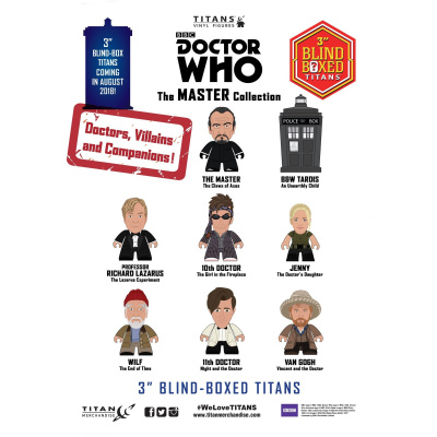 Doctor Who TITANS: The Master Collection 18 Piece CDU