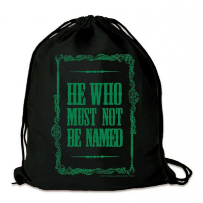 Harry Potter bag He Who Must Not Be Named