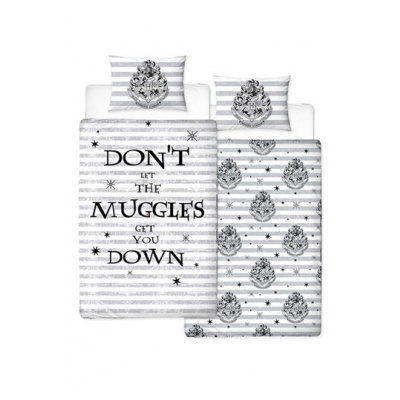 Harry Potter: Muggles Single Reversable Duvet Set