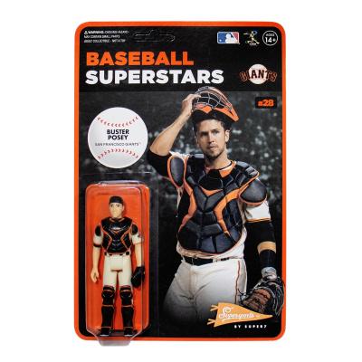 MLB Modern Wave 1: San Francisco Giants - Buster Posey 3.75 inch ReAction Figure