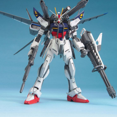 Gundam Seed: MG - Strike E+ IWSP A. Lukas O'Donnell - 1:100 Model Kit