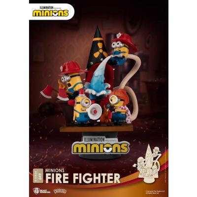Minions: Firefighter PVC Diorama