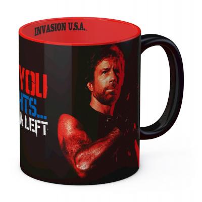Chuck Norris: I'm Gonna Hit You Matt Hunter Mug