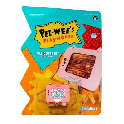 Pee-Wee's Playhouse: Magic Screen 3.75 inch ReAction Figure