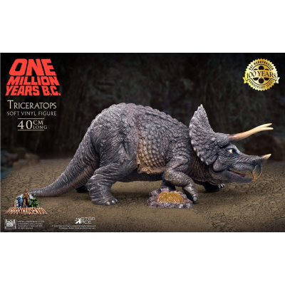 One Million Years B.C.: Triceratops PVC Statue