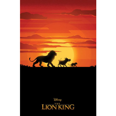 Disney: The Lion King Movie - Long Live the King 91 x 61 cm Poster