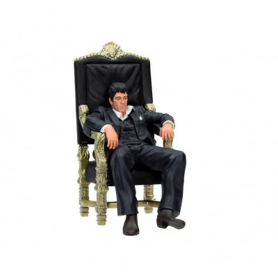 Scarface: Sitting Tony Montana 7 inch Statue