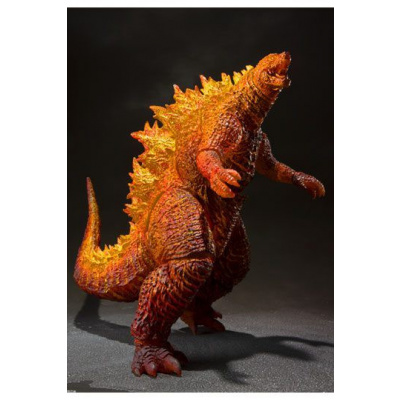 Godzilla: King of the Monsters 2019 actiefiguur SH MonsterArts Burning Godzilla 16 cm
