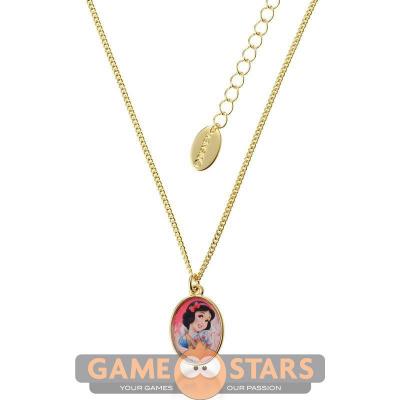 Kids Disney Princess Snow White Necklace (Yellow Gold)