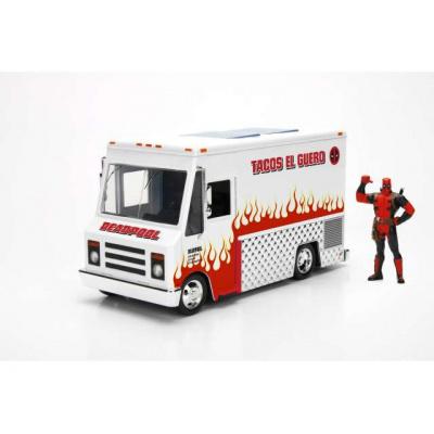 Marvel: Deadpool Foodtruck with Figure 1:24