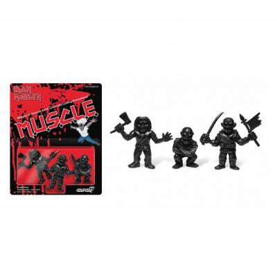 Iron Maiden: 1.75 inch Muscle Figures Black 3 figure Set