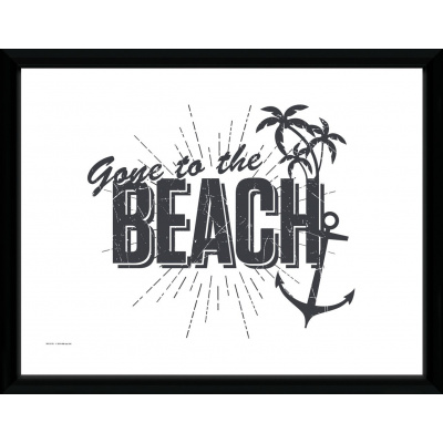 Tropical: Gone to the Beach Collector Print