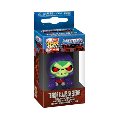 Pop! Keychain: Masters of the Universe - Skeletor with Terror Claws