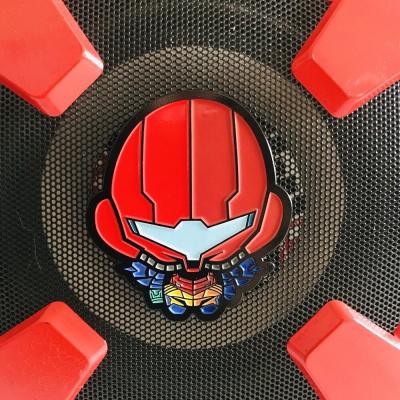 Erjurself: Metroid - Gravity Suit Pin